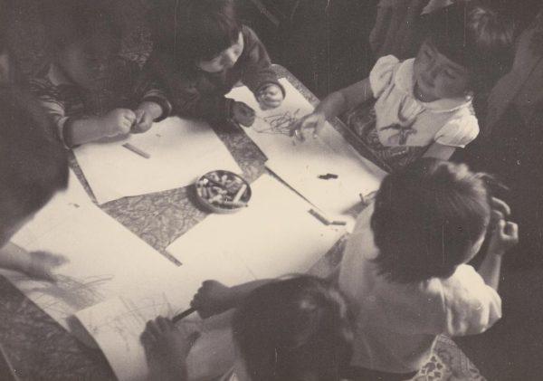 開所当時のひよこ共同乳児保育所